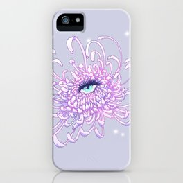 Whimsical Chrysanthemum, Weronika Salach iPhone Case