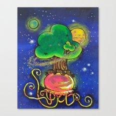 Tend To Your Baobabs Canvas Print