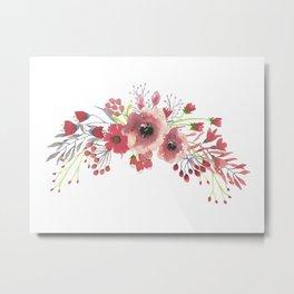 Sweet Floral Metal Print