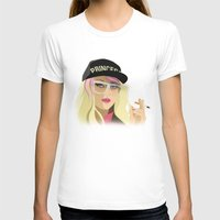 princess peach T-shirts featuring Princess Peach  by DigitalSlave