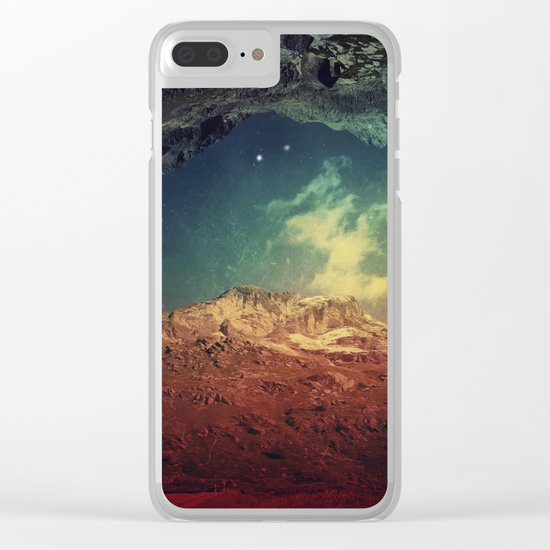Dream Mountains Clear iPhone Case