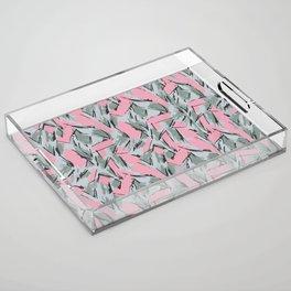 Hopper Pattern Acrylic Tray