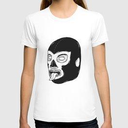 Black Luchador T-shirt