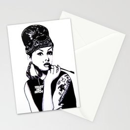 Audrey Hepburn. Rebel: Chola. Stationery Cards