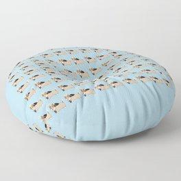 corgi cas Floor Pillow