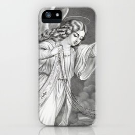 Angel of Prayer iPhone Case