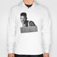 fresh prince Hoodies featuring Fresh prince by MartiniWithATwist