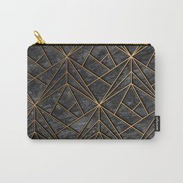 Elegant geometric modern rock Carry-All Pouch