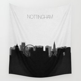 City Skylines: Nottingham Wall Tapestry