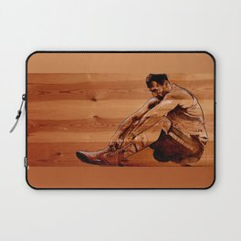 Failure is not an option - acrylic on wood  Laptop Sleeve