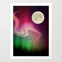 aurora Art Prints featuring Aurora by Angelo Cerantola