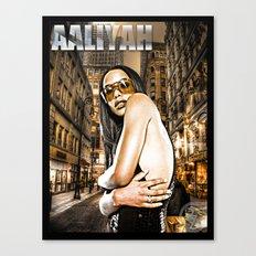 Street Phenomenon Aaliyah Canvas Print