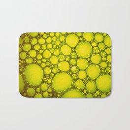 Yellow Oil Blobs on Water Bath Mat