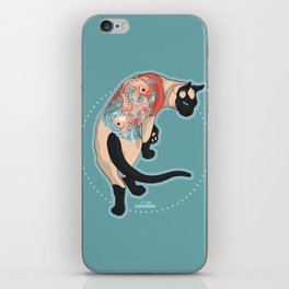Pets Ink - Siamois iPhone Skin