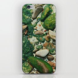 Moss-Covered Rocks in Isle of Skye, Scotland iPhone Skin