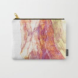 Mountains landscape drawing Carry-All Pouch