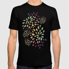 Dark drops 2 Mens Fitted Tee Black SMALL