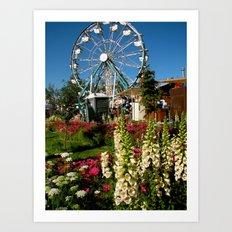 Alaska State Fair Art Print
