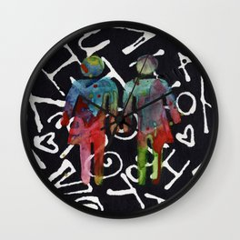 Genderqueer Wall Clock