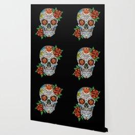 Sugar Skull, Day Of The Dead Wallpaper