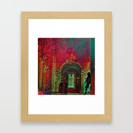 The Crushing Weight of Defeat:  Divide Framed Art Print