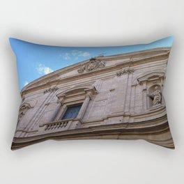 Upward Cross, Chiesa di San Luigi dei francesi Rectangular Pillow