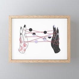 The Moon Players Framed Mini Art Print