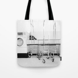 At the Laundromat Tote Bag