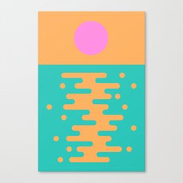 Paradise Sunrise Canvas Print