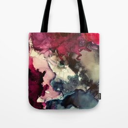 Dark Inks - Alcohol Ink Painting Tote Bag