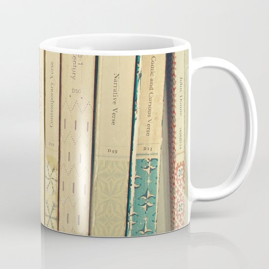 Old Books Mug