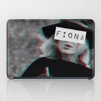 coven iPad Cases featuring Fiona Goode & the Cig by NameGame