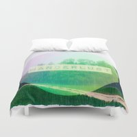wanderlust Duvet Covers featuring Wanderlust  by Armine Nersisian