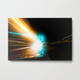 A night to die for. Metal Print