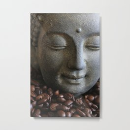 coffee buddha Metal Print