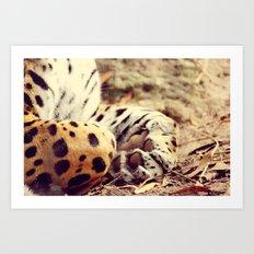 Cuddle Up Art Print