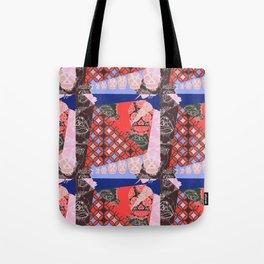 Girly_pattern_toxic_cute pattern Tote Bag