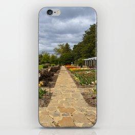 Italian Garden at Maymont iPhone Skin