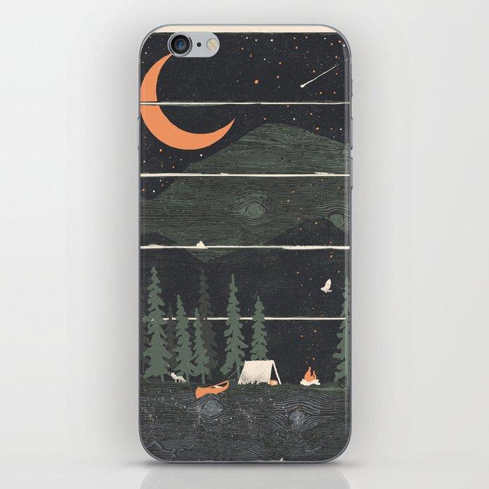 Wish I Was Camping... iPhone Skin