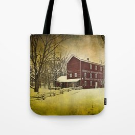 Bowen's Cider Mill during Winter Tote Bag