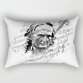 Niccolò Paganini Rectangular Pillow
