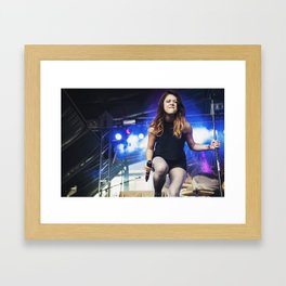 Tay Jardine (We Are The In Crowd) Framed Art Print