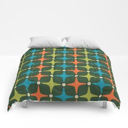 Mid Century Modern Star Pattern 934 Comforters