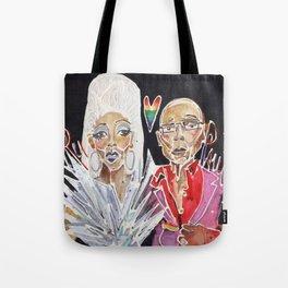 Ru Paul Tote Bag