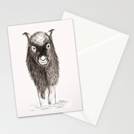 Baby Musk Ox Stationery Cards