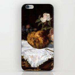 Édouard Manet The Brioche iPhone Skin