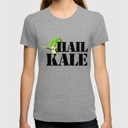 Hail Kale Kale Art for Vegans Vegetarians on Diet Light T-shirt