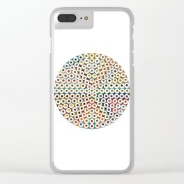 167 Toilet Rolls 06. Clear iPhone Case