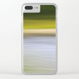 Lakeside Motion Clear iPhone Case