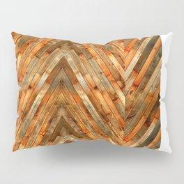 Wood Plank Texture Pillow Sham